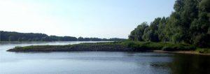 Elbe Ufer am Haus