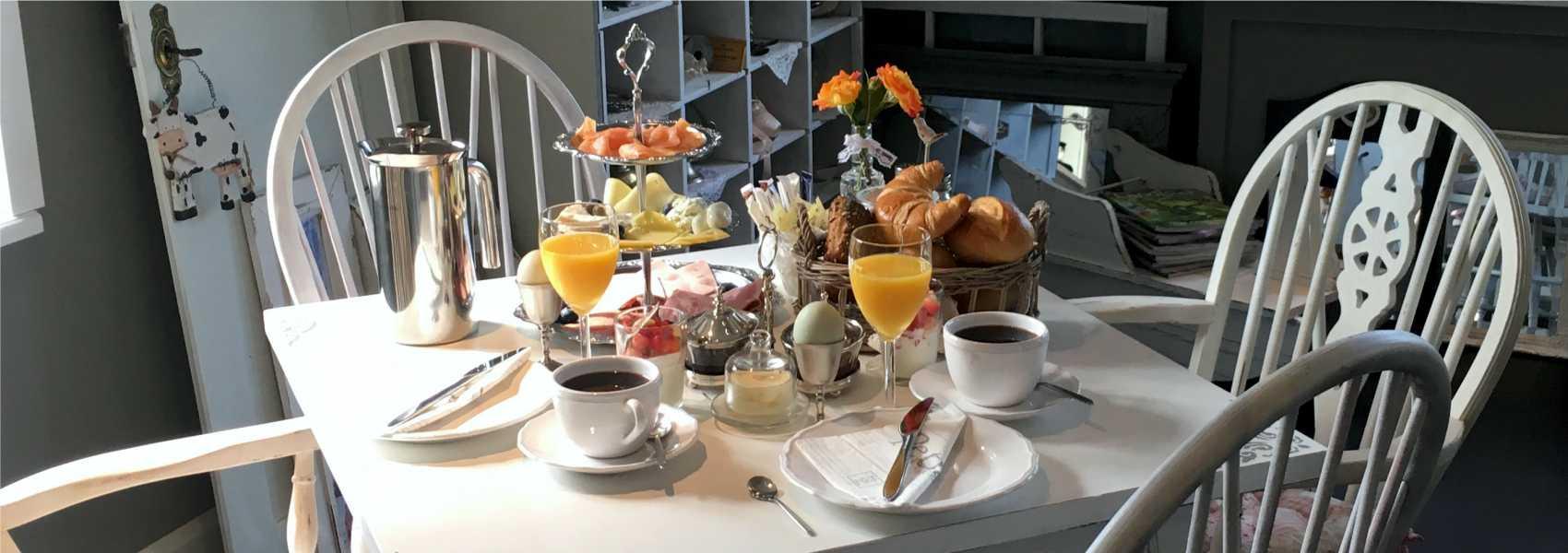 Landhaus Frühstück