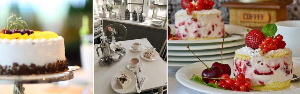 Kuchen im Cafe